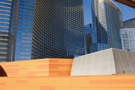 Aria Hotel resort, one of most recent developments in Vegas