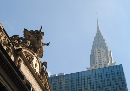 First encounter with Chrysler Building