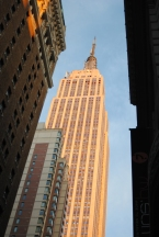 First clos encounter with Empire State Building